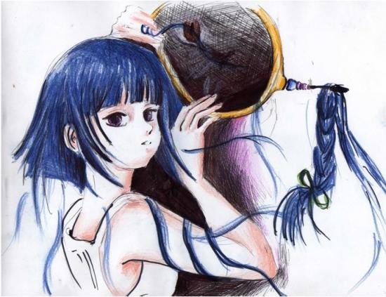 Naruto by fayEye